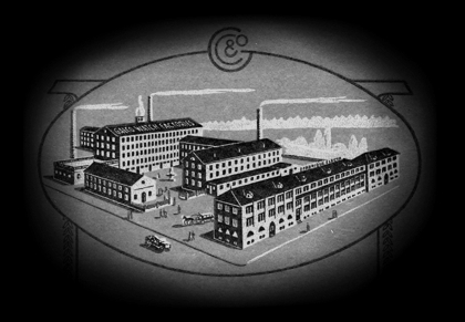 The Gallet & Co factories in La Chaux-de-Fonds, Switzerland (circa 1911)...