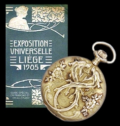 Gallet wins the Grand Diploma of Honor at the1905 Universal Exposition of Liege...