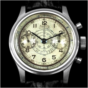 Gallet Breitling MultiChron 30 Clamshell